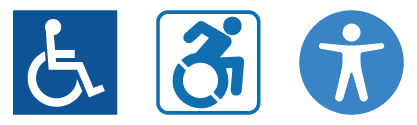 AudioEye Accessibility Statement icons
